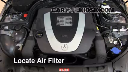 2009 Mercedes-Benz C300 Sport 3.0L V6 Air Filter (Engine) Check