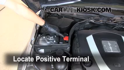 2009 Mercedes-Benz C300 Sport 3.0L V6 Battery Jumpstart