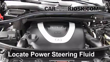 check power steering level mercedes benz gl450 2007 2012 2009 rh carcarekiosk com 22 Black AMG Replica Wheels for a 2007 GL450 Benz GL450 2009