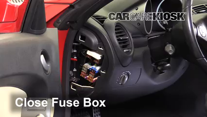interior fuse box location 2005 2011 mercedes benz slk300 2009 2005 Mercedes AMG V12
