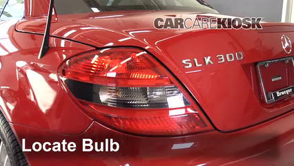 2009 Mercedes-Benz SLK300 3.0L V6 Luces