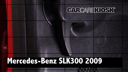 2009 Mercedes-Benz SLK300 3.0L V6 Review