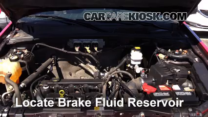 2009 Mercury Mariner 2.5L 4 Cyl. Brake Fluid Check Fluid Level