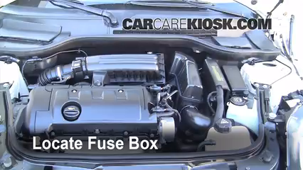 replace a fuse 2008 2015 mini cooper 2009 mini cooper clubman 2005 Mini Cooper Fuse Box Diagram mini cooper engine compartment fuse box