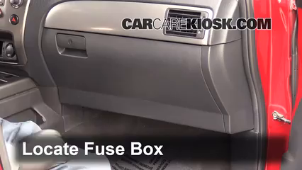 Interior Fuse Box Location 2004 2015 Nissan Armada 2009 Nissan