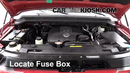 Replace a Fuse: 2004-2015 Nissan Armada - 2009 Nissan Armada SE 5.6L V8  FlexFuelCarCareKiosk