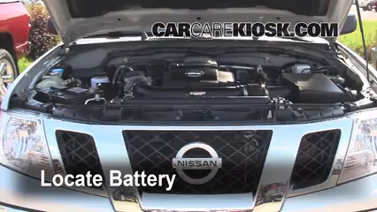 Battery Replacement: 2005-2019 Nissan Frontier - 2009 Nissan