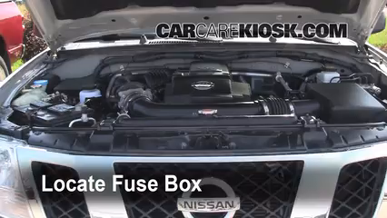 2009 Nissan Frontier LE 4.0L V6 Crew Cab Pickup%2FFuse Engine Part 1 replace a fuse 2005 2016 nissan frontier 2009 nissan frontier 2016 nissan frontier fuse box diagram at crackthecode.co