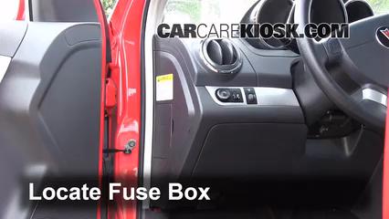 interior fuse box location 2009 2010 pontiac g3 2009 pontiac g3 rh carcarekiosk com 2005 pontiac wave fuse box diagram