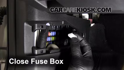 Interior Fuse Box Location: 2008-2009 Pontiac G8 - 2009 Pontiac G8