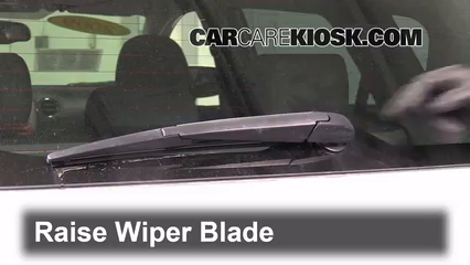 2009 Pontiac Vibe 2.4L 4 Cyl. Windshield Wiper Blade (Rear) Replace Wiper Blade