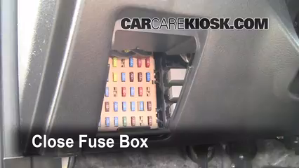 interior fuse box location 2009 2013 subaru forester. Black Bedroom Furniture Sets. Home Design Ideas