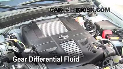 2010 subaru forester automatic transmission fluid
