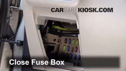 interior fuse box location 2005 2009 subaru outback. Black Bedroom Furniture Sets. Home Design Ideas