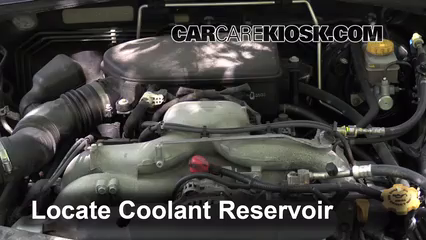 2009 Subaru Outback 2.5i Limited 2.5L 4 Cyl. Coolant (Antifreeze) Flush Coolant