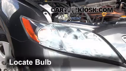 2007 toyota camry headlight bulb replacement