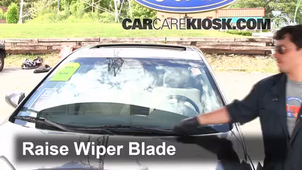 2009 Toyota Camry Hybrid 2.4L 4 Cyl. Windshield Wiper Blade (Front) Replace Wiper Blades