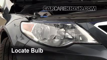 Parking Light Change 2009-2017 Volkswagen CC - 2009