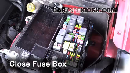 Interior Fuse Box Location 2005 2007 Chrysler Town and