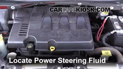 dodge caravan power steering fluid type
