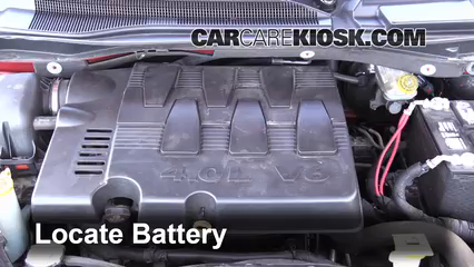 2009 Volkswagen Routan SEL 4.0L V6 Battery Replace