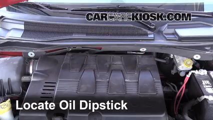 how to oil change 2016 chrysler town and country