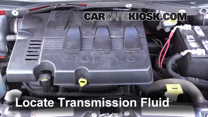 2008 Chrysler Town and Country Touring 3.8L V6 Transmission Fluid