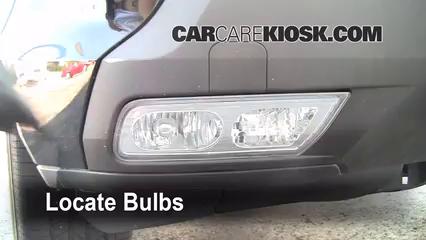 2009 Acura MDX 3.7L V6 Éclairage Feu antibrouillard (remplacer l'ampoule)