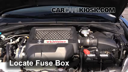 2009 Acura RDX 2.3L 4 Cyl. Turbo Fusible (motor)