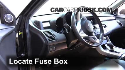 interior fuse box location: 2007-2012 acura rdx - 2009 acura rdx 2.3l 4  cyl. turbo  carcarekiosk
