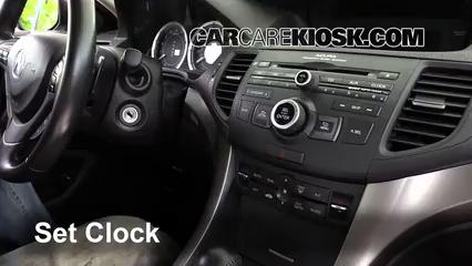 2009 Acura TSX 2.4L 4 Cyl. Clock