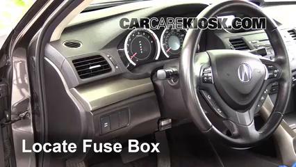 2009 Acura TSX 2.4L 4 Cyl. Fuse (Interior)