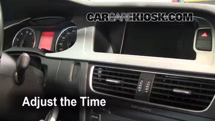 2009 Audi A4 Quattro 2.0L 4 Cyl. Turbo Horloge