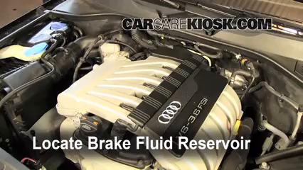 2009 Audi Q7 Premium 3.6L V6 Brake Fluid