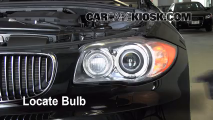 2009 BMW 135i 3.0L 6 Cyl. Turbo Coupe Lights Highbeam (replace bulb)
