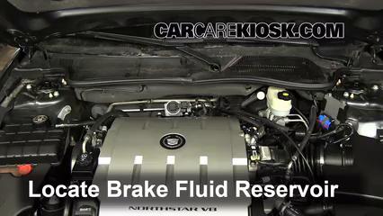 2009 Cadillac DTS Platinum 4.6L V8 Liquide de frein