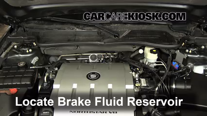 2009 Cadillac DTS Platinum 4.6L V8 Líquido de frenos