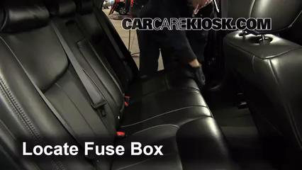 2009 Cadillac DTS Platinum 4.6L V8 Fusible (intérieur)