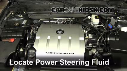 2009 Cadillac DTS Platinum 4.6L V8 Líquido de dirección asistida