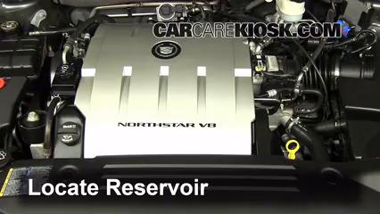 2009 Cadillac DTS Platinum 4.6L V8 Líquido limpiaparabrisas