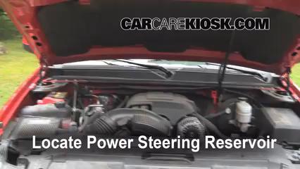 2009 Chevrolet Avalanche LT 6.0L V8 Líquido de dirección asistida