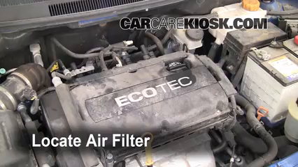 2009 Chevrolet Aveo LS 1.6L 4 Cyl. Air Filter (Engine)