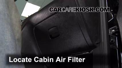 2009 Chevrolet HHR LS 2.2L 4 Cyl. FlexFuel Air Filter (Cabin)