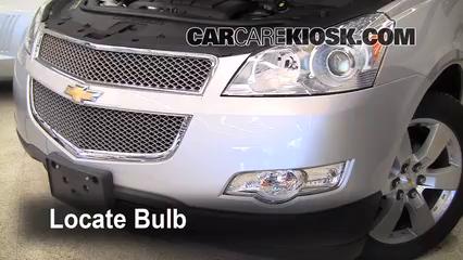 2009 Chevrolet Traverse LT 3.6L V6 Luces Luz de carretera (reemplazar foco)