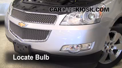 2009 Chevrolet Traverse LT 3.6L V6 Luces Faro delantero (reemplazar foco)