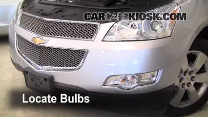 2009 Chevrolet Traverse LT 3.6L V6 Luces Luz de niebla (reemplazar foco)