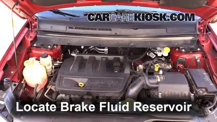 2009 Dodge Journey SE 2.4L 4 Cyl. Brake Fluid
