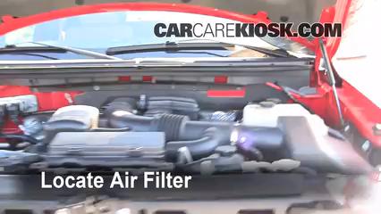 2009 Ford F-150 XLT 5.4L V8 FlexFuel Crew Cab Pickup (4 Door) Filtre à air (moteur)