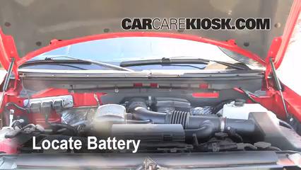 2009 Ford F-150 XLT 5.4L V8 FlexFuel Crew Cab Pickup (4 Door) Batterie