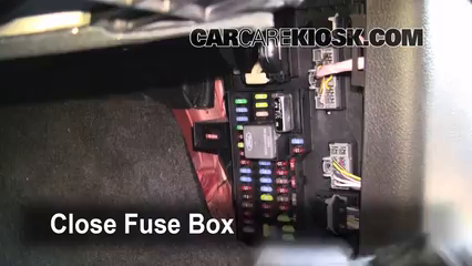 Interior Fuse Box Location: 2009-2014 Ford F-150 - 2009 Ford F-150 XLT 5.4L  V8 FlexFuel Crew Cab Pickup (4 Door) | Ford F150 Fuse Box Location |  | CarCareKiosk